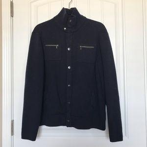 Banana Republic 100% Wool Button Down Jacket